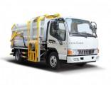 6.5 Cbm 132HP Hang Barrel Bucket Compressed Garbage Truck