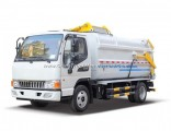6.5 Cbm Hang Barrel Bucket Garbage Truck with JAC Chassis