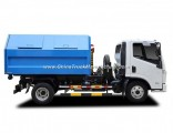 4X2 7 Cbm 8 Ton Yuejin 125HP Detachable Carriage Garbage Truck