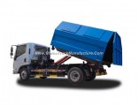Yuejin Naveco 8 Ton 7 Cbm Detachable Garbage Truck