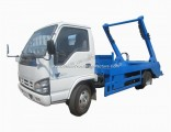 Isuzu 600p 5m3 Swing Arms Garbage Vehicle Skip Loader Truck