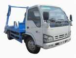 Isuzu 600p Small 4m3 5 Tons Swing Arm Garbage Truck for Sale