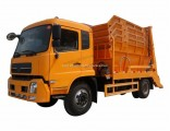 Dongfeng Kingrun 8m3 10m3 LHD or Rhd Side Loader Garbage Truck for Sale