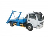 Chinese Brand New Condition Dongfeng Duolika 4-5cbm Small Garbage Truck Skip Loader