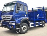 Sinotruk HOWO Golden Prince Right Hand Drive 8m3 10m3 Swing Arm Skip Loader Garbage Truck Dimensions
