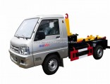 Foton 4X2 Left Hand Drive 3cbm Hook Loader Hook Lift Garbage Truck