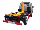 Foton Gasoline Small Rear Self Loading Hook Lift Roll off Garbage Truck