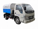 Municipal Purpose Remote Control Mini Waste Collector 3000L /4000L Bins Hook Arm Lift Garbage Truck