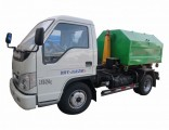 Foton Forland Mini 3m3 Hook Lift Container Side Loader Garbage Truck