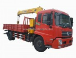 JAC Shacman HOWO Dongfeng Iveco Model 5tons 6.3tons 8tons Sany Truck Crane