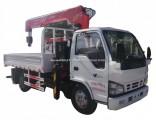 Japan Isuzu 600p Small Truck Mounted Hydraulic Truck Crane 2tons 3.2tons
