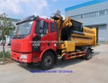 FAW 4X2 Garbage Truck with Crane
