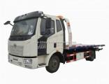 FAW 4X2 8tons 10 Tons Flat Bed Wrecker Truck