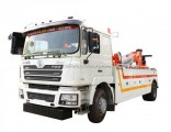 Shacman Heavy Duty 10t Bus Pickup Rollback Wrecker Towing Truck