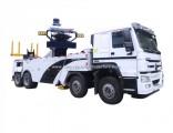 Sinotruk HOWO 8X4 Rotator Heavy Duty Tow Truck 50 Ton Wrecker Towing Truck