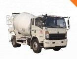 HOWO Light 4X2 Type 3 Cubic Meter 4 Cubic Meter Concrete Mixer Truck