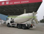 Shacman F3000 14 Cubic Meters Portable Cement Mixer Road Construction Machinery Concrete Mixers