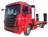 JAC 4X2 12tons 15tons Flat Bed Truck for Loading Excavator