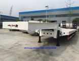 3 Axles Flat Bed Trailer
