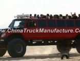 Dongfeng 6X6 Awd Desert Tour Bus Truck