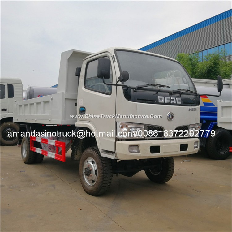 Dongfeng 4X4 Mini Dump Truck 4WD Tipper Truck for Sale
