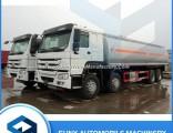 30cbm Sino HOWO 8X4 Oil Tank Truck 371HP