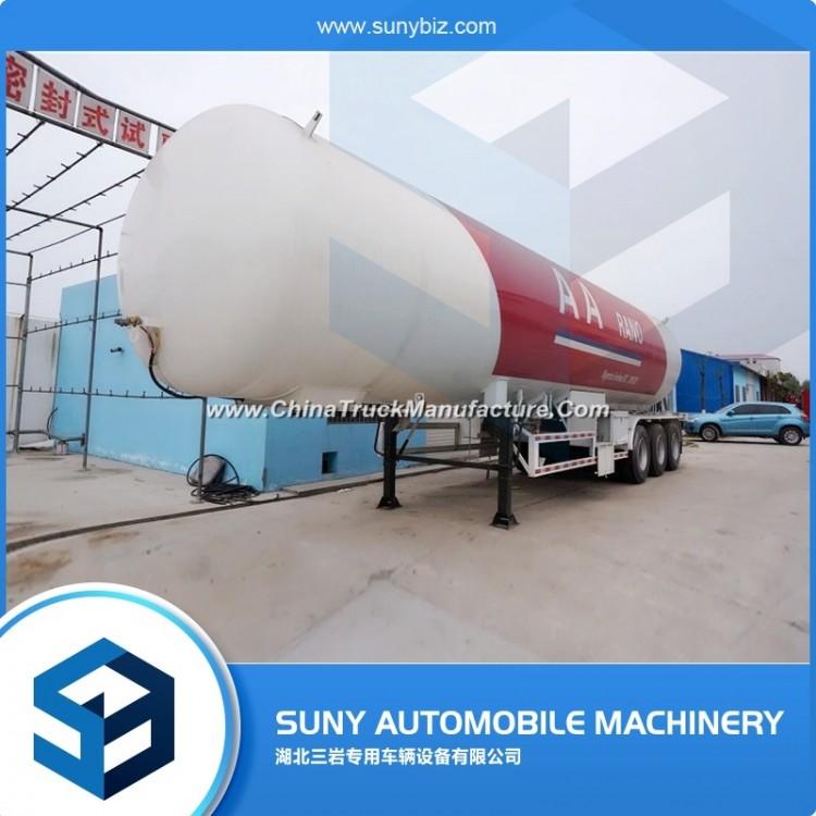 56000 Liters 24tons Bangladesh LPG Tank Trailer