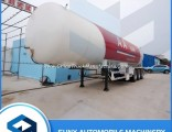 56000 Liters 24tons Bangladesh LPG Tank Trailer