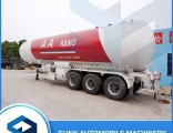 China Manufacturer 56m3 3 Axles Large LPG Propane Tanker Semi Trailer for Africa