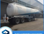 3 Axles 58.5cbm 25 Tons LPG Tanker Transporting Trailer