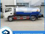 4 Cbm Dongfeng Vacuum Fecal Sewage Suction Tanker Trucks
