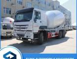 HOWO 10 Wheeler 10 Cubic Concrete Mixer Tank Truck