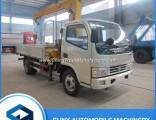 DFAC Telescopic Boom Mini 3t Truck Mounted Crane for Sale