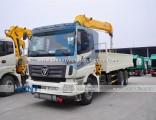 8t 10t Foton Auman 6X4 Truck Mounted Crane