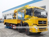 16t Crane Truck Dongfeng 8X4 Truck with Crane