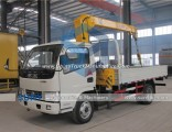 Crane Load 3.2t Dongfeng 4X2 Light Truck with Crane