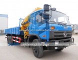 10t Foldable Arm Dongfeng 6X4 Truck Mounted Crane