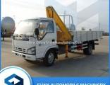 3 Ton Isuzu Knuckle Boom Pickup Hydraulic Mini Truck Mounted Crane for Sale