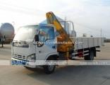 2t 3t Light Crane Truck Dongfeng 4X2 Truck Mounted Crane