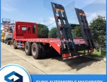 FAW 6X4 20 Ton Concave Flatbed Transport Truck