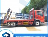 4X2 New 6ton Flat Bed Excavator Transportation Lorry