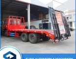 Hot Selling Df Flatbed Excavator Transport Truck Made in China