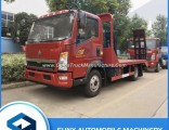 HOWO 4X2 Flat Bed Recovery Truck Platform Wrecker Flatbed Cargo Transport Truck