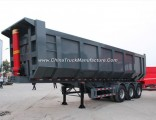 45 Cubic Meter U Shape 3 Axles Hydraulic Dump Trailers