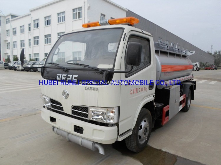 DFAC 4X2 Fuel Tank Tanker Vehicle/Truck 5cbm with Good Price for Sale