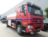 China Best Price Sinotruk Cnhtc HOWO 4X2 Fuel Tank Tanker Truck 12000L
