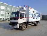 China Isuzu 4X2 6wheels Ftr Refrigerator Refrigerated Truck