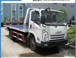 Good Quality Jmc 4X2 4 Ton Half Landing Type Tow Truck Wrecker Good Price for Sale