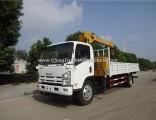 Brand New Isuzu 4X2 3.2 Tons Crane Truck