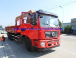 China Dongfeng 10wheelers Truck Mounted with Crane 12t